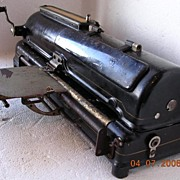 Vintage Protectograph Check Writer Circa 1915