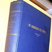 1897 Dutch Astronomy Book 'De Wonderen Des Hemels'