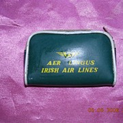 Vintage Air Lingus Miniature Advertising Sewing Purse