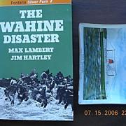 """T.E.V. WAHINE Dish & Fontana Book """"The Wahine Disaster"""""""