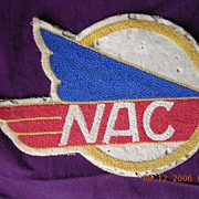 "Rare Vintage Airline ""NAC New Zealand"" Cloth Patch"