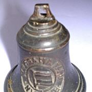 Rare 1929 Shipping Souvenir Bell M.S. ASAM MARU, NYK Line