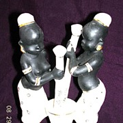 SOLD 1960's NEGRO Girls Ornament