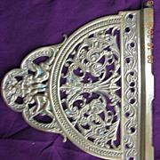 Victorian Art Nouveau Brass Hinge