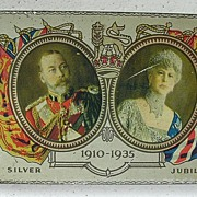 1935 Cadbury Tin Commemorating King George V 1910-1935