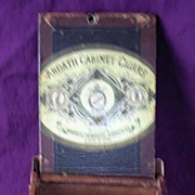 Vintage ARDATH Cabinet Cigars Quality No 66  Wooden Box