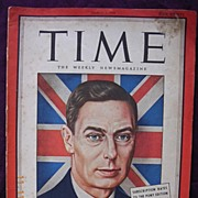 Vintage TIME Magazine PONY Edition  March 6th 1944