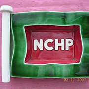 Vintage NCHP French Shipping Line Ashtray