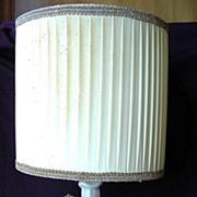 Baroque Style German Bisque Porcelain Cherub Lamp