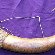 SOLD Papua New Guinea Native Gourd Private Parts Sheath
