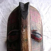 Vintage Pacific Islands Tribal Mask