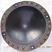 Fijian Vintage Kava Bowl