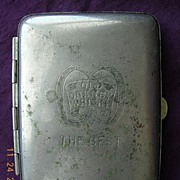 Vintage ORKNEY WHISKY Advertising Cigarette Case