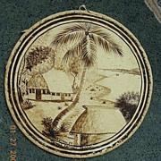 Vintage Tongan Tapa Art