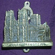 "Edwardian Period Souvenir Door Knocker 'YORK MINSTER"""