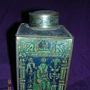 "Victorian FRYS Cocoa Extract ""Oriental Scenes"" Tin"