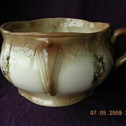"""Victorian Staffordshire Porcelain Chamber Pot Or """"Potty"""""""