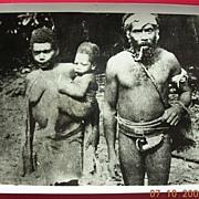 Vintage Solomon Islands Family WW2 GI Photograph