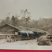 Vintage WW2 Photograph Of US ARMY Base Camp Solomon Islands