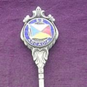 P & O Line 'S.S. Arcadia' Souvenir Jam Spoon