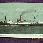 Union Co 'S.S. Manuka' Vintage Souvenir Postcard
