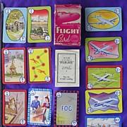 Vintage Pepys Series Children's Playing Cards 'FLIGHT'