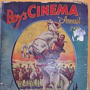 Vintage  'Boys Cinema Annual 1932'