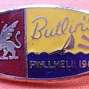 1962 Butlins PWLLHELI Camp Badge