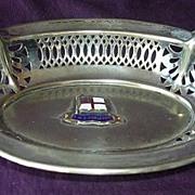 R.M.S. CORINTHIC - Shaw Savill & Albion - Souvenir Bon Bon Dish