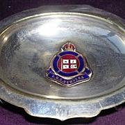 R.M.S. Remuera Souvenir Footed Ring or Bon Bon Dish - NZSCo