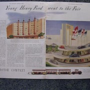 1939 FORD Motor Company Double Page Spread Advertisement