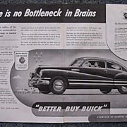 1941  BUICK Double Page Spread Advertisement