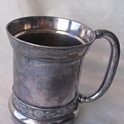 Victorian Art Nouveau Tankard By Simpson, Hall, Miller & Co.