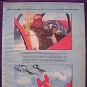 "ESQUIRE ""The Exploits Of Esky"" WW2 Humour April 1943 Edition"