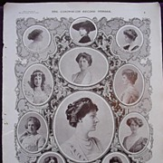 Coronation Of King George V & Queen Mary - Plate 11 The Coronation Of Queen Mary - Ladies Atte
