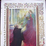 Coronation Of King George V & Queen Mary - Plate 1X The Legend Of The Coronation Oil And The A