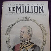 1892 Front Cover THE MILLION 'The Marquess Of Dufferin And Ava