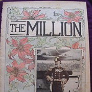 1892 Front Cover From THE MILLION Newspaper 'Types Of The British Navy - Admiral Sir Michael C