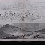 'The Transvaal War' From The Illustrated London News April 1881