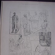 'Suspension Of The Irish Party: Sketches In And About The House Of Commons' - Illustrated Lond