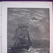 'Homeward Bound' - Illustrated London News Dec. 17 1881
