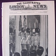Front Cover The Illustrated London News Nov. 26 1881'  - 'Placing The Waterloo Colours Of Seco
