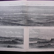 'Sketches In The North West Territory Of Canada' - Illustrated London News Nov. 26 1881
