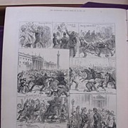 The Irish Land League Agitation: Sketches In Dublin Saturday Evening, Oct.15' - Illustrated ..