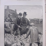 'The Goose Club Committee' - Illustrated London News Dec.17 1881