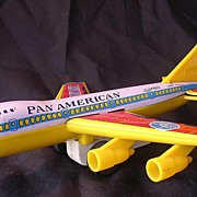 PAN AM Boeing Jumbo Jet - Friction Toy Plane