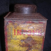Victorian 'LINTON'S' Desiccated Coconut Tin