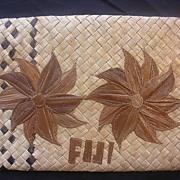 Fijian Flax Purse or Kete