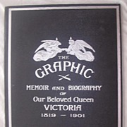 The Life Of QUEEN VICTORIA Bound Special Edition From The Graphic 1901