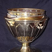 "SOLD A Very Stylish ""CHALICE LIKE"" Art Nouveau Brass Jardiniere"